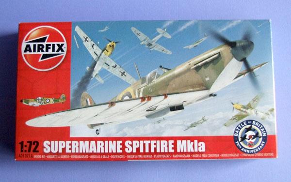 Supermarine Spitfire Mk Ia 1/72 (new mold) - Airfix Ahoy